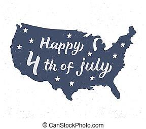 letras, 4 julio, feliz
