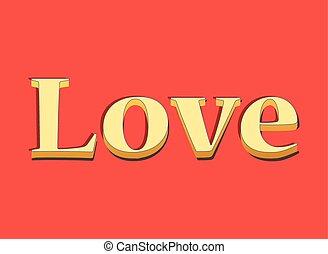letras, amor