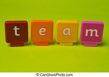 letras, equipe