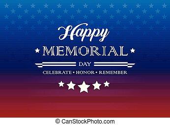 letras, honor, celebrar, recordar, -, monumento...