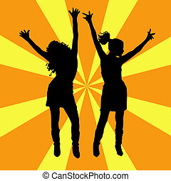 Lets dance - Females dancing
