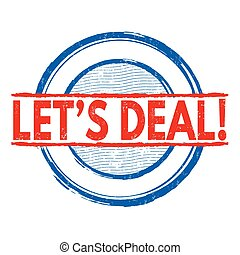 Let's deal stamp