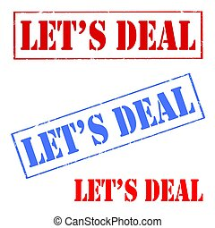 Let's Deal-stamps