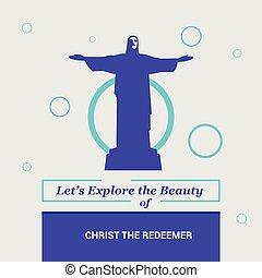 Let's Explore the beauty of Christ The Redeemer Rio de Janeiro, Brazil National Landmarks