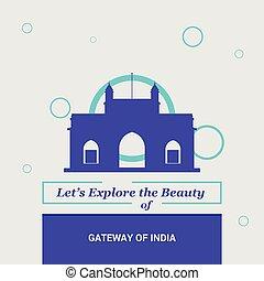 Let's Explore the beauty of Gateway of India Maharashtra, India National Landmarks