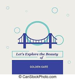 Let's Explore the beauty of Golden gate San Francisco, CA, USA National Landmarks