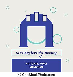 Let's Explore the beauty of National D-day Memorial ,USA...