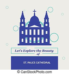 Let's Explore the beauty of St paul's Cathedral London, UK National Landmarks