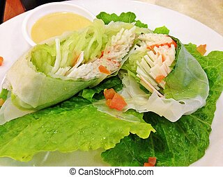 Let's Go Vegan - Green leafy vegetables for a healthy you.