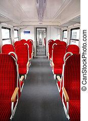let's take a seat - inside of a brandnew wagon