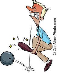 letsel, bowling