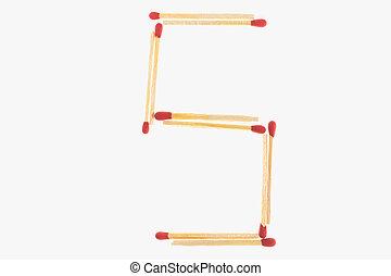 letter 5 match