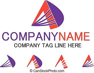 Letter A business logo