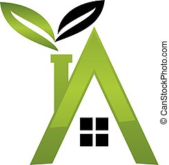 Letter A Eco Home
