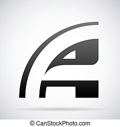 Letter A icon. Design template - Letter A logo icon design ...
