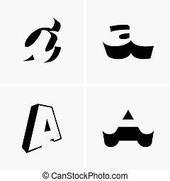 "Letter ""A"" logos"