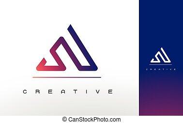 Letter A Monogram Logo Design. - A Logo Monogram. Letter A ...