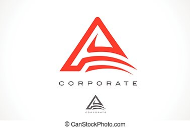 Letter A Monogram Logo Design. - A Logo Monogram. Letter A...