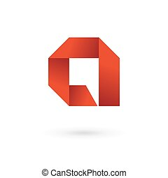 Letter A speech bubble logo icon design template elements