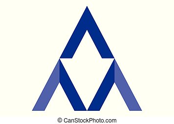 letter A vector dsign logo