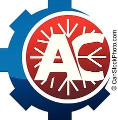Letter AC Gear