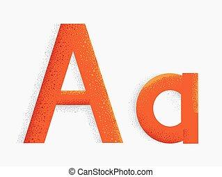 Letter Alphabet Illustration
