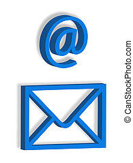 Letter and email