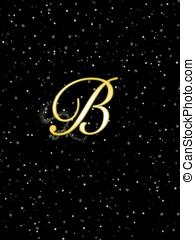 Letter B.