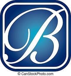 Letter B Logo Design Template Vector