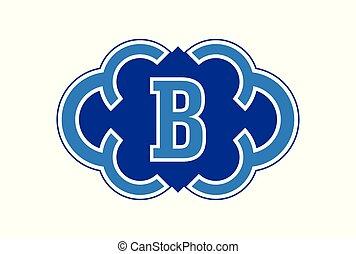 letter B logo icon vector concept