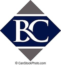 letter BC logo - B,BC letter Business design template logo ...