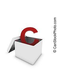 letter c in box