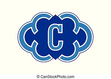 letter C logo icon vector concept
