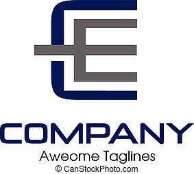 letter CE , EE logo - C, E, CE letter Business design...