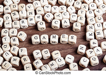 Letter dices word - games