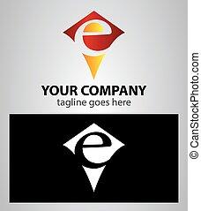 Alphabet letter e grunge red logo icon design alphabet vectors letter e logo icon design template spiritdancerdesigns Choice Image