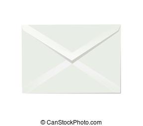 Letter envelope - White letter envelope illustration