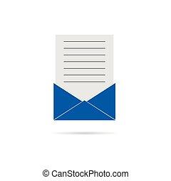 letter envelope illustration