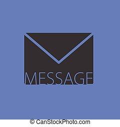 letter envelope message vector