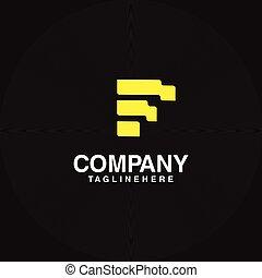 Letter F Building Logo