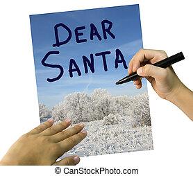 Letter for Santa Klaus