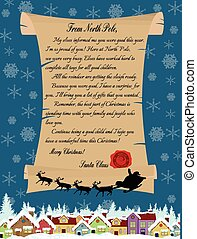 Letter from Santa Claus