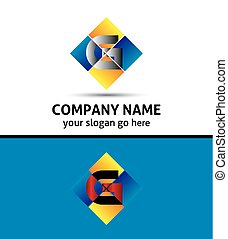 Letter G Company logo icon template