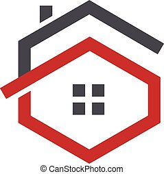 letter G house logo - Letter G logo with real estate logo,...