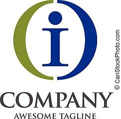 letter I logo