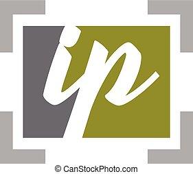 Letter IP Modern