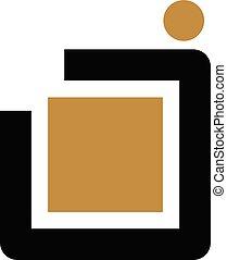 Letter J Modern Logo