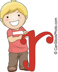 Letter Kid R
