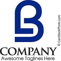 letter lb logo