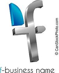 Letter logo F